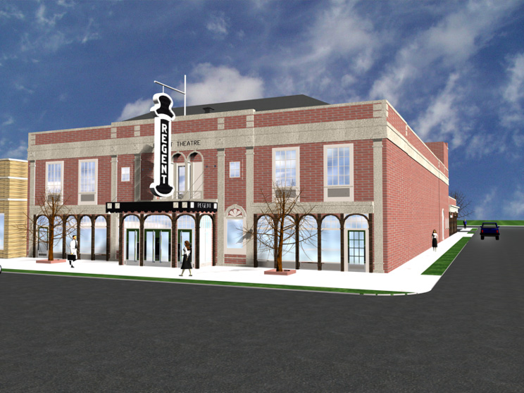 Mills Architect - Regent Theatre